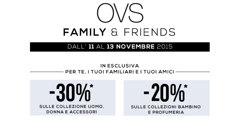 OVS Family&Friends 2015
