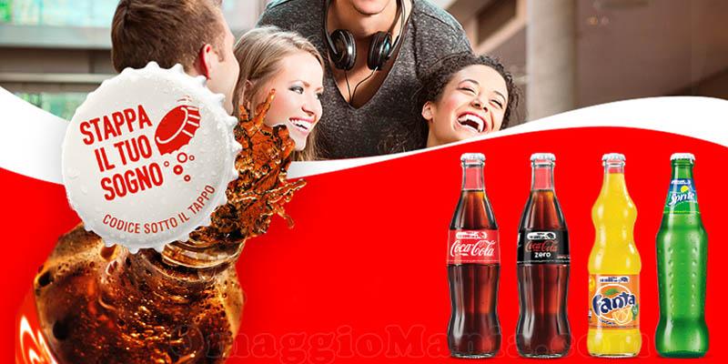 Stappa il tuo sogno con Coca Cola