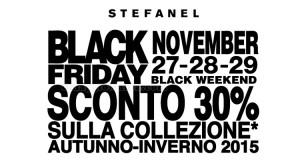 Stefanel Black Friday 2015