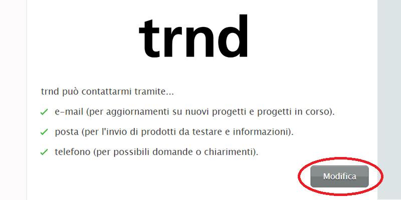 TRND consenso ricezione starter kit