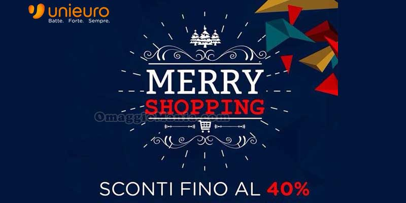 Unieuro Merry Shopping