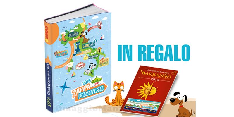 agenda Zampa Vacanza e calendario Barba Nera 2016 omaggio