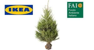 albero di Natale IKEA Compostiamoci Bene