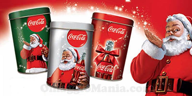 barattoli Coca Cola omaggio 2015