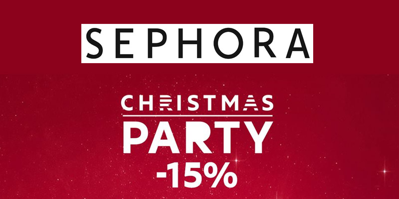 black Friday Sephora Christmas Party 2015