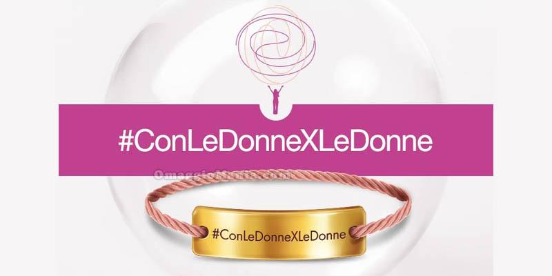braccialetto #ConLeDonneXLeDonne