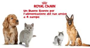 buoni sconto Royal Canin