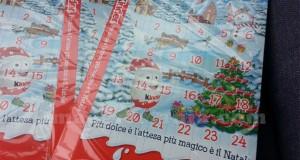 calendari dell'Avvento Kinder in omaggio