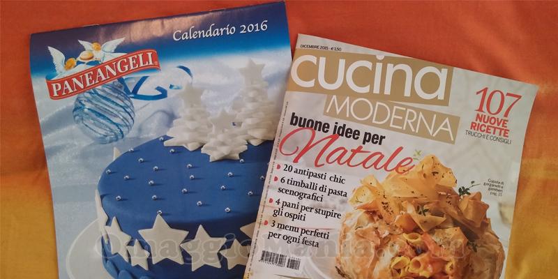 calendario Paneangeli 2016 con Cucina Moderna