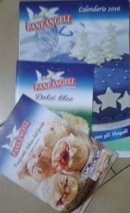calendario Paneangeli 2016 ricevuto in omaggio da Silvana