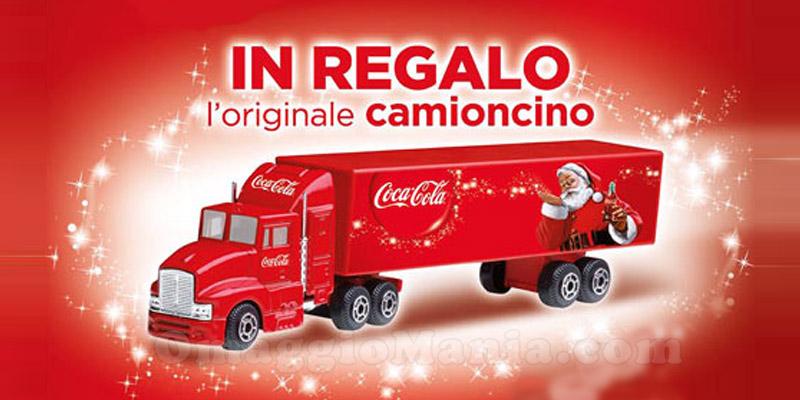 camioncino Coca Cola in omaggio