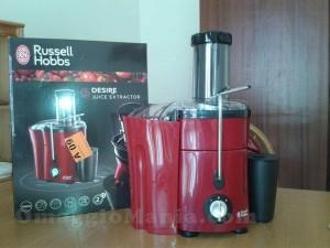 centrifuga Russell Hobbs ricevuta da Pamela