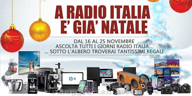 concorso A Radio Italia è già Natale