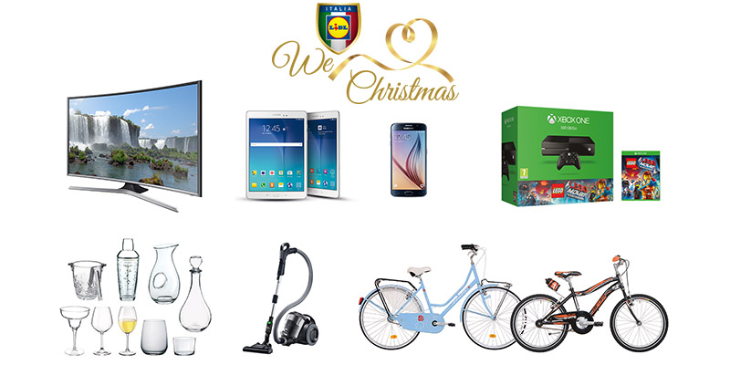 concorso Lidl We Love Christmas