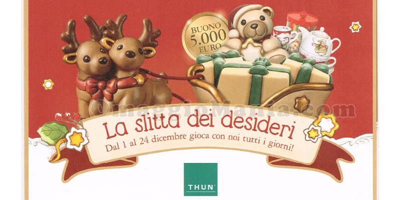 concorso Thun La Lista dei Desideri
