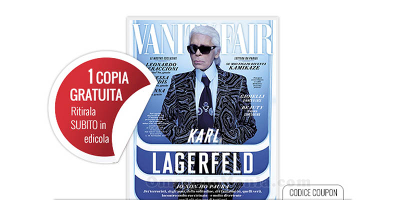 coupon Inizia con Vanity Fair 47