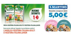 coupon L'Angelica e S.Martino con Saltainbocca