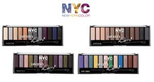 diventa tester NYC palette by Demi Lovato