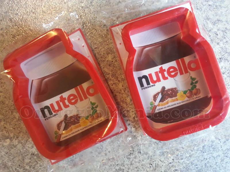 formine Nutella in omaggio