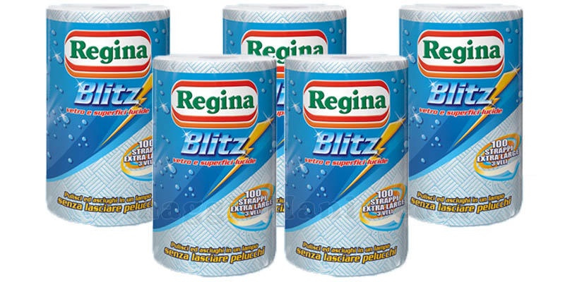 fornitura 5 Regina Blitz