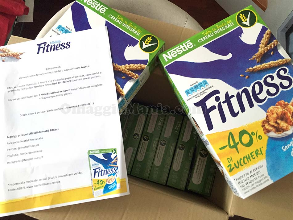fornitura cereali Fitness Lovers di Hamal85