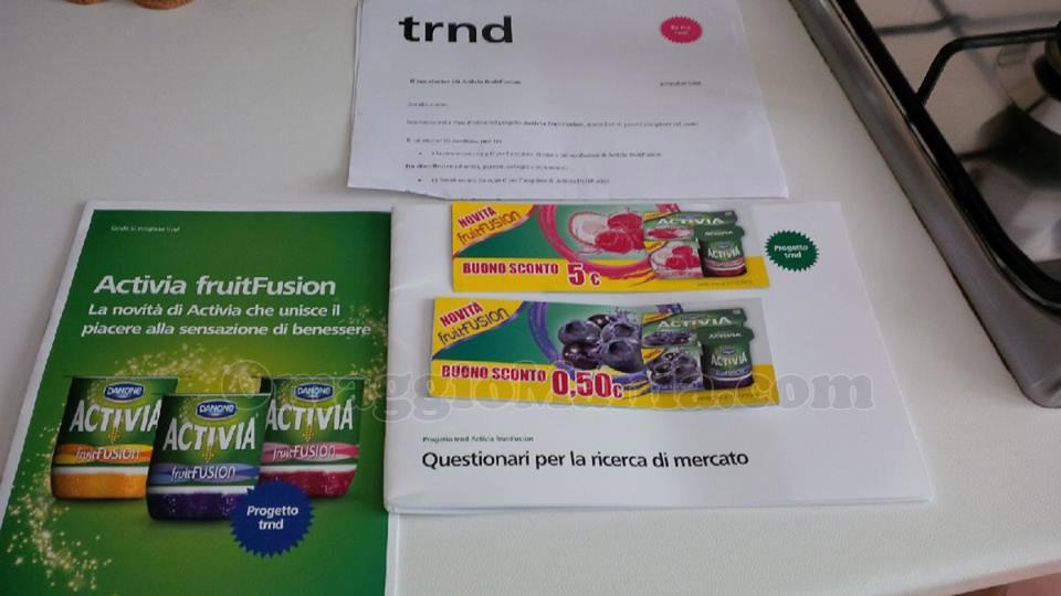kit Activia con TRND di Antonella