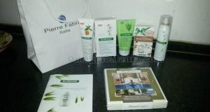 kit di prodotti Klorane vinto da Valentina