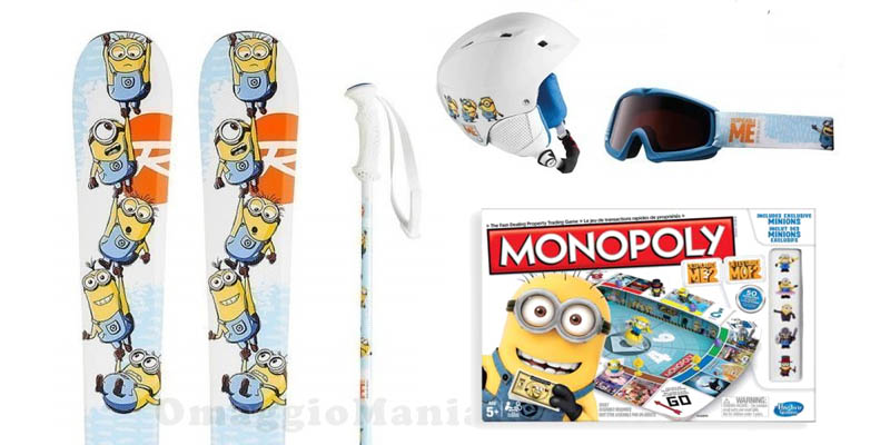 kit sci e monopoli Minions