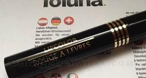 lipcolor ricevuto da Giulia con Toluna