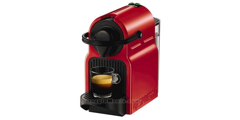macchina da caffè Nespresso rossa
