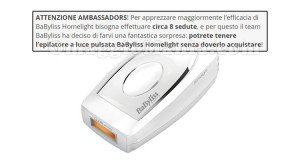 messaggio The Insiders regalo BaByliss Homelight