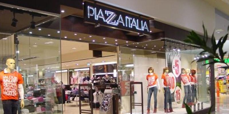 negozio Piazza Italia