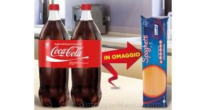 pasta Simply omaggio con Coca Cola