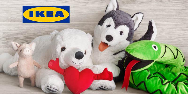 peluche IKEA