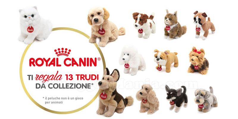peluche Trudi omaggio da Royal Canin