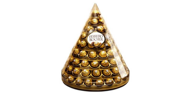 piramide di Ferrero Rocher