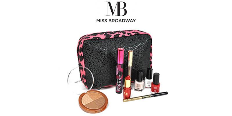 pochette con kit di prodotti Miss Broadway