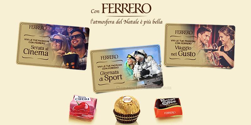 premio certo Ferrero Lidl Natale