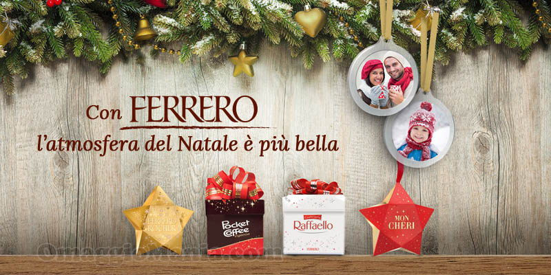 premio certo Ferrero addobbi natalizi