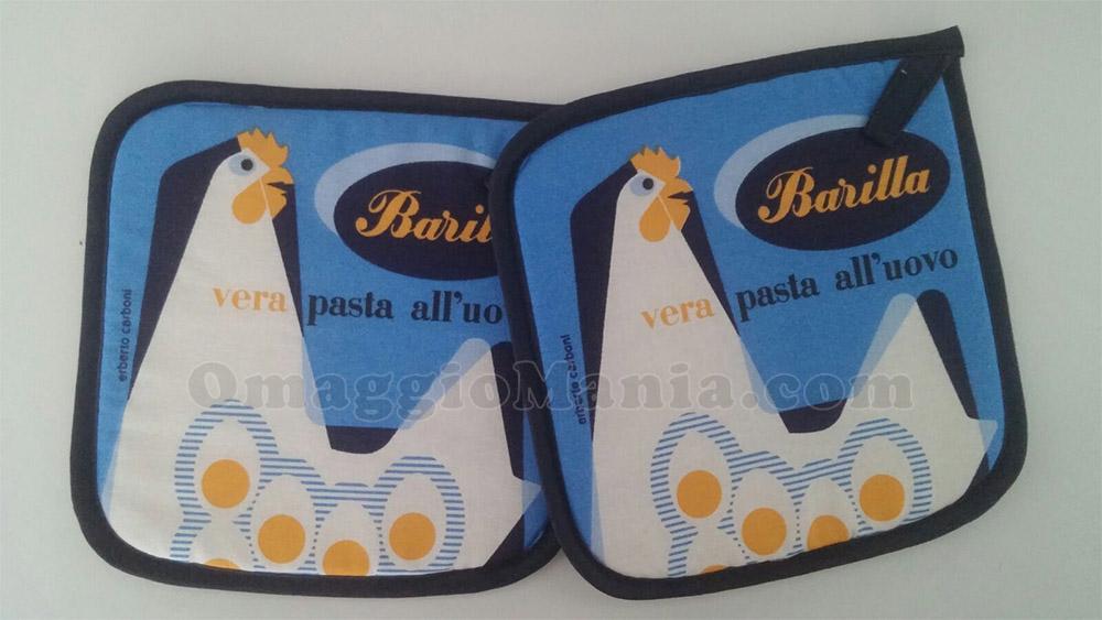presine Barilla vera pasta all'uovo firmate da Erberto Carboni