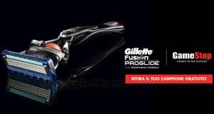 rasoio Gillette omaggio da Gamestop 2