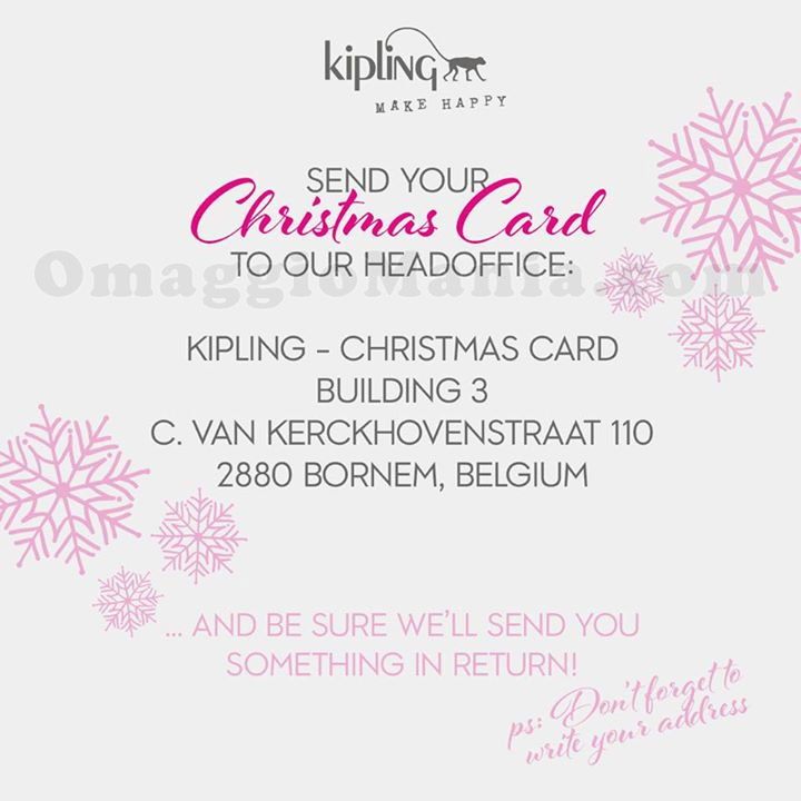 sorpresa Kipling per Natale