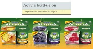 tester Activia FruitFusion