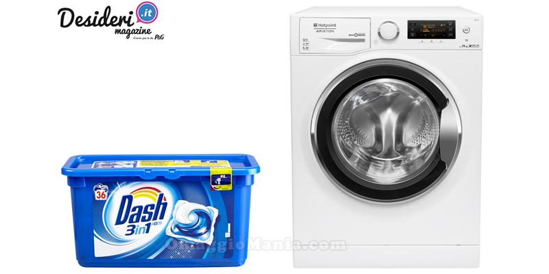 vinci lavatrice Hotpoint e Dash 3in1 Pods