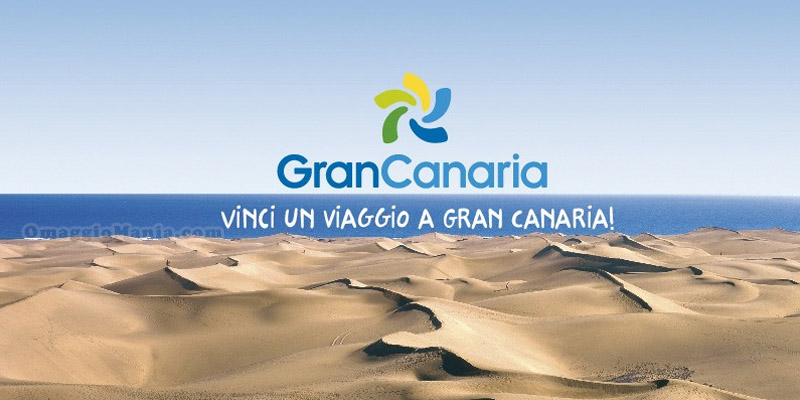 vinci un viaggio a Gran Canaria
