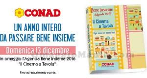 Agenda Bene Insieme 2016 omaggio da Conad