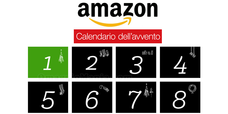 Calendario dell'Avvento di Amazon 2015