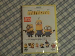 DVD dei Minions vinto da Ester