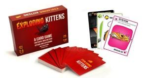 Exploding Kittens gioco di carte