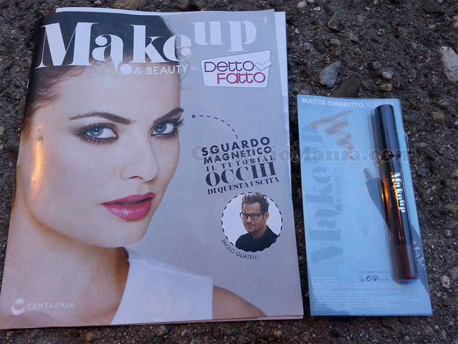 Make Up & Beauty by Detto Fatto con matita ombretto tortora di valeria